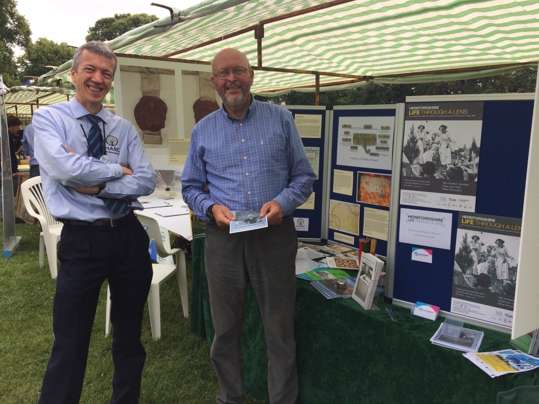 Rhys from HARC promotes HLTAL on Historical day July 2017