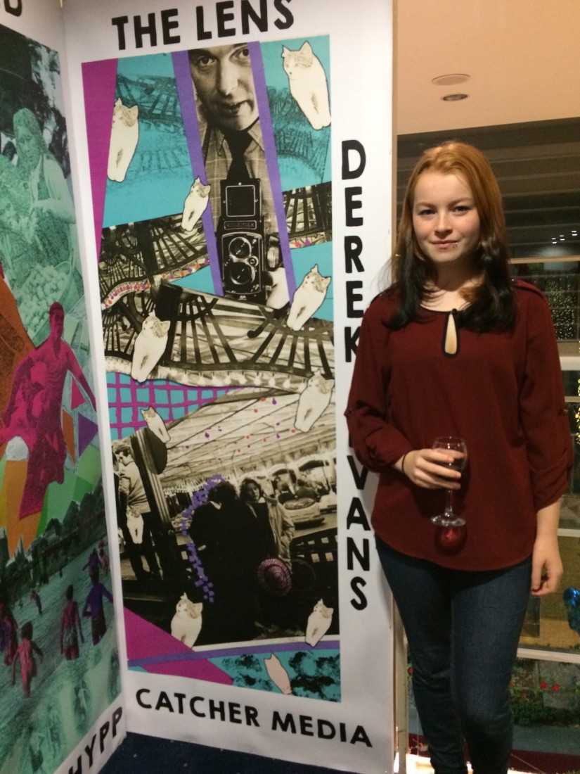 SHYPP exhibitor Chantelle with her work
