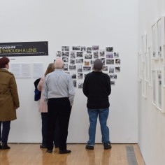 Dementia Group at the Derek Evans Hop Photo Exhibition at the Courtyard