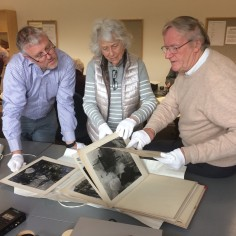 Three of Derek Evans former colleagues explore his archived work.