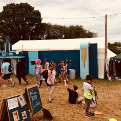 Nozstock venue for Stories from the Hop Yards screening 2018