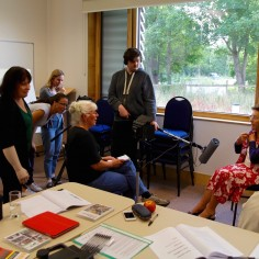 Volunteer Open Day - Interviewing fellow trainees